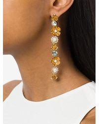Ca&Lou - Metallic Bella Long Earrings - Lyst