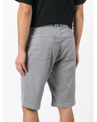 Diesel Black Gold - Gray Bermuda Shorts for Men - Lyst