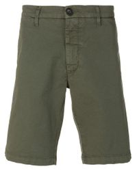 Eleventy - Green Classic Chino Shorts for Men - Lyst