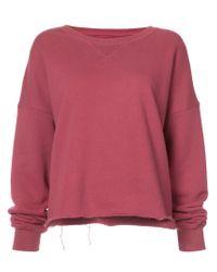 Simon Miller - Red Oversized Sweater - Lyst