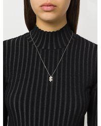 Akillis - Metallic Mini Puzzle Necklace - Lyst