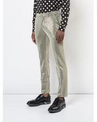 Tom Rebl - Metallic Trousers for Men - Lyst