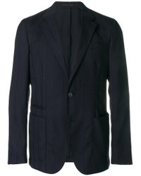 Z Zegna - Blue Classic Blazer for Men - Lyst