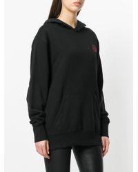 A.F.Vandevorst Black Logo Hooded Sweatshirt