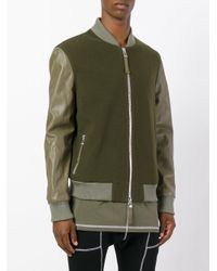 Blood Brother - Green Alpha Bomber Jacket for Men - Lyst