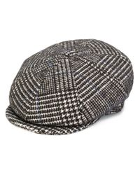 Lardini - Multicolor Checked Beret for Men - Lyst