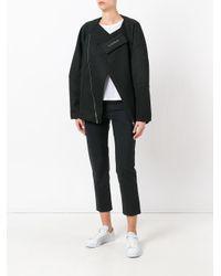 Odeur - Black 'odd' Mesh Jacket for Men - Lyst