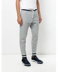 Polo Ralph Lauren - Gray Striped Waistband Sweatpants for Men - Lyst
