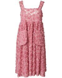 Shrimps | Pink Iris Dress | Lyst