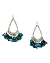 Gas Bijoux - Metallic Bibi Plume Earrings - Lyst