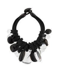 Monies - Black Chunky Necklace - Lyst