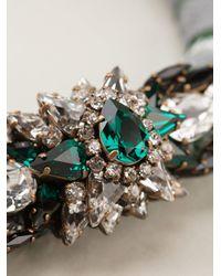 Shourouk - Metallic 'mamba' Necklace - Lyst