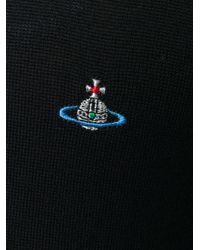Vivienne Westwood - Black Embroidered Orb Jumper for Men - Lyst
