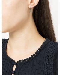 Anita Ko - Metallic Safety Pin Earring - Lyst
