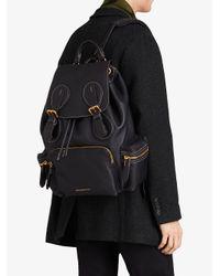 Burberry - Black Rucksack Backpack for Men - Lyst