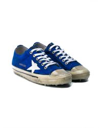 Golden Goose Deluxe Brand - Blue 'v-star 2' Sneakers - Lyst