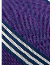 Fashion Clinic Timeless - Purple Striped Tie for Men - Lyst