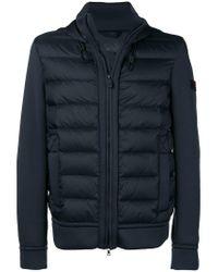 Peuterey - Blue Hooded Padded Jacket for Men - Lyst