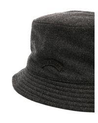 Paul & Shark - Gray Logo Hat for Men - Lyst