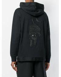 PUMA Black Xo Hooded Sweatshirt for men
