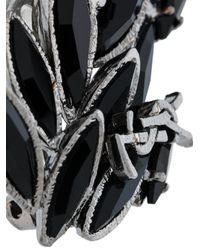Saint Laurent - Black Climbing Earrings - Lyst