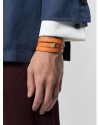 Fefe - Orange Bracciale Con Triplo Cinturino - Lyst