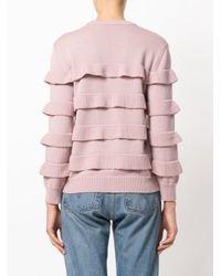 Vivetta | Pink Rose Pullover | Lyst