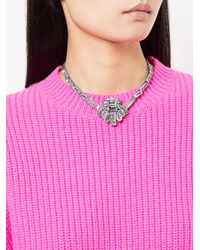 Rada' - Multicolor Stone Embellished Necklace - Lyst