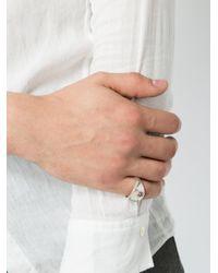 Henson | Metallic Signet Ring | Lyst