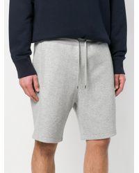 Moncler Gamme Bleu - Gray Jersey Shorts for Men - Lyst