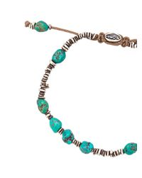 M. Cohen - Blue Beaded Bracelet for Men - Lyst