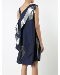 Issey Miyake | Blue Origami Dress | Lyst