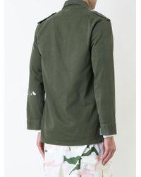 Icons - Green Plain Shirt for Men - Lyst