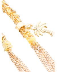 Carolina Bucci - Metallic Palm Tree Lucky Bracelet - Lyst