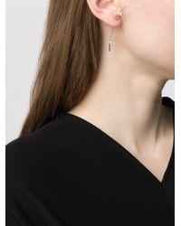 Sophie Bille Brahe - Diamond Foundry X Dover Street Market 18kt White Gold Petite Elipse Royal Diamond Earring - Lyst
