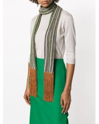 Missoni - Multicolor Metallic Fringed Scarf - Lyst