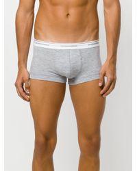 DSquared² - Gray Logo Printed Trunks for Men - Lyst