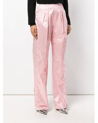 Christopher Kane - Pink High Waisted Tailored Trousers - Lyst