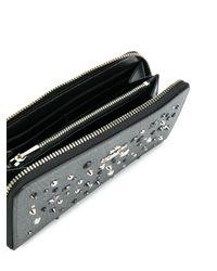 COACH Black Star Studded Wallet