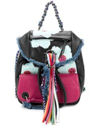 DIESEL - Black B-oom Backpack - Lyst