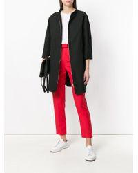 Herno - Black Front Zip Jacket - Lyst