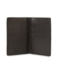 Tod's - Brown Grained Bifold Wallet for Men - Lyst