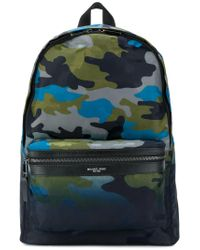Michael Kors - Blue Camouflage Print Backpack for Men - Lyst
