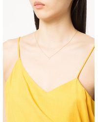 Sydney Evan - Metallic Small Horseshoe Necklace - Lyst
