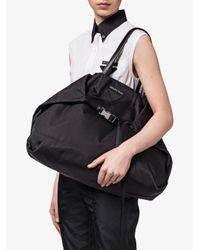 Prada Black Adjustable Handle Tote Bag