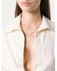 Eddie Borgo - Metallic U Short Necklace - Lyst