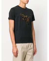 COACH Black Wild Beast Rexy T-shirt for men