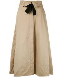 Dorothee Schumacher - Natural Tie Up Skirt - Lyst