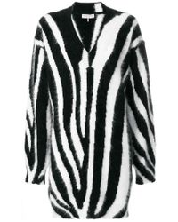Emilio Pucci | Black Zebra Printed Sweater | Lyst