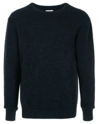 Coohem - Blue Crew Neck Sweater for Men - Lyst